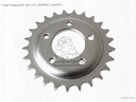 *fop*sprocket Dr 25t (non O.e. Alternative)