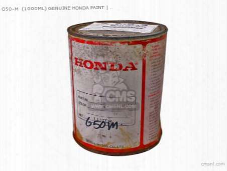 G50-m (1000ml) Genuine Honda Paint