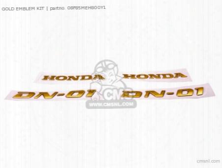 Gold Emblem Kit