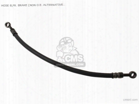 Hose B,fr. Brake (non O.e. Alternative)