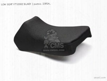 Low Seat Xt1200z Black
