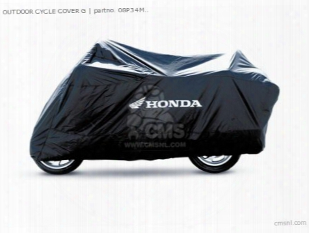 Outdoor Cycle Cover G
