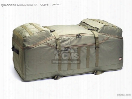 Quadgear Cargo Bag Rr - Olive