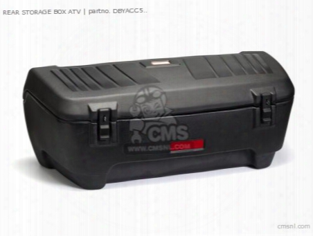 Rear Storage Box Atv