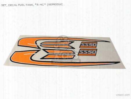 Set, Decal Fuel Tank, *r-4c* (non O.e. Alternative)