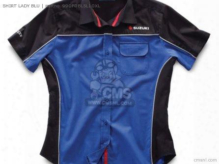Shirt Lady Blu