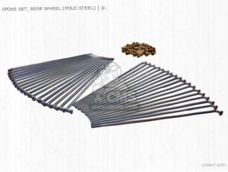 Spoke Set, Rear (mild Steel) (non O.e. Alternative)