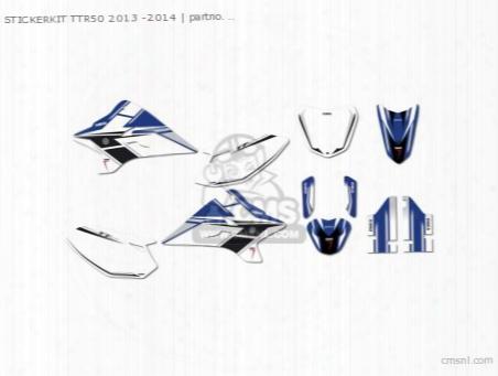 Stickerkit Ttr50 2013 -2014
