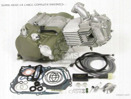 Super Head +r 148cc Complete Engine(s-25d/s-touring 5sp)