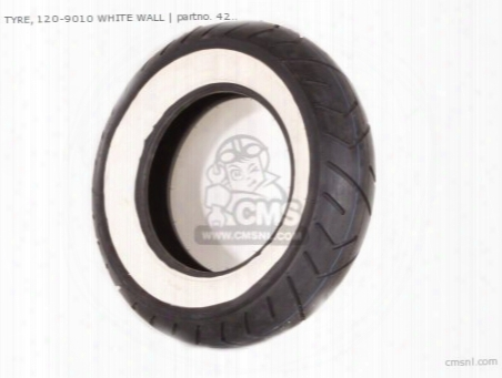 Tyre, 120-9010 White Wall