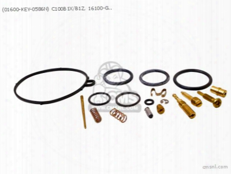 (01600-key-0586n) C100b1x/b1z, 16100-gce-951, Carb Revision Set