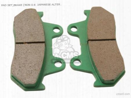 (06435-mc7-406p) Pad Set,brake (non O.e. Japanese Alternative)