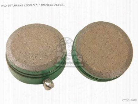 (06450-300-305) Pad Set,brake (non O.e. Japanese Alternative)