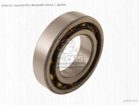 (96100-6006000) Bearing 6006