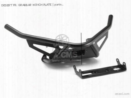 Desert Fr. Grabbar Winch Plate