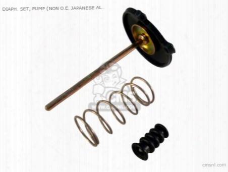 Diaph. Set, Pump (non O.e. Japanese Alternative)