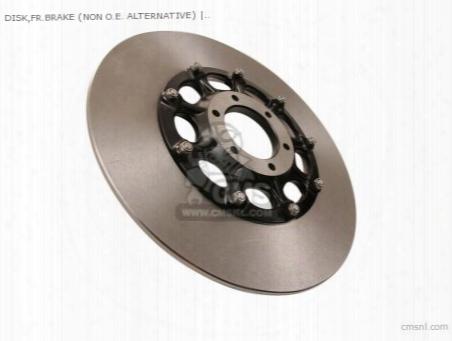 Disk,fr.brake (non O.e. Alternative)