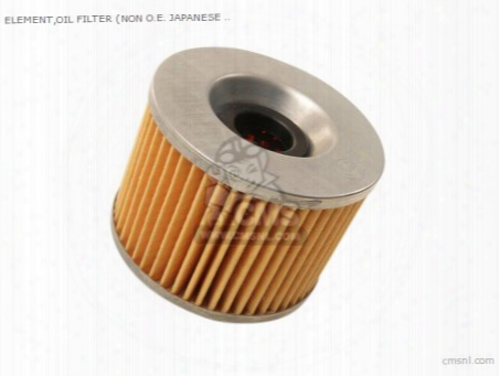 Element,oil Filter (non O.e. Japanese Alternative)