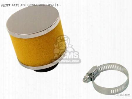 Filter Assy, Air. (20mm Carb Type)