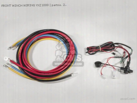 Front Winch Wiring Yxz1000