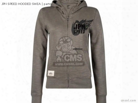Jpn Speed Hooded Swea