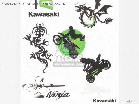 Kawasaki Kid Tattoo S