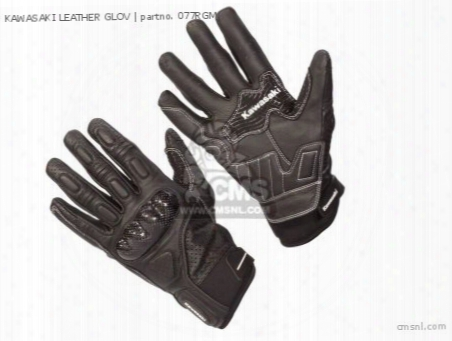 Kawasaki Leather Glov
