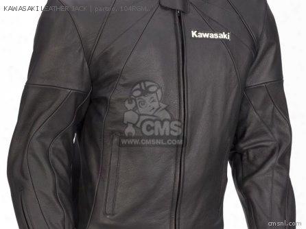 Kawasaki Leather Jack