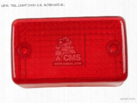 Lens, Tail Light (non O.e. Alternative)