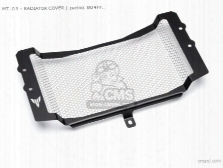 Mt-03 - Radiator Cover