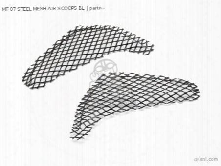 Mt-07 Steel Mesh Air Scoops Bl