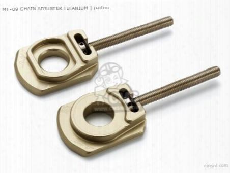 Mt-09 Chain Adjuster Titanium