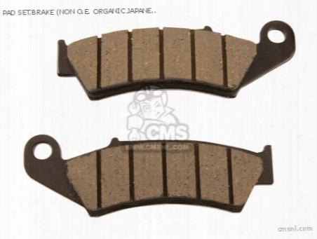Cushion Set,brake (non O.e. Organic Japanese Alternative)