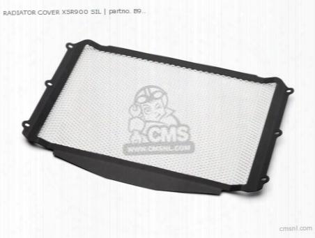 Radiator Cover Xsr900 Sil