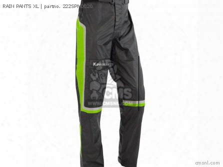 Rain Pants Xl