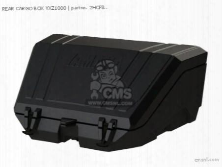 Rear Cargo Box Yxz1000