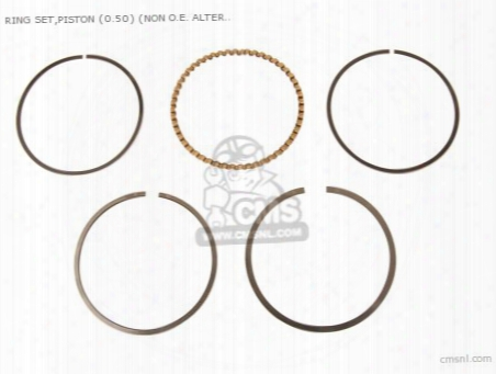 Ring Set,piston (0.50) (non O.e. Alternative)