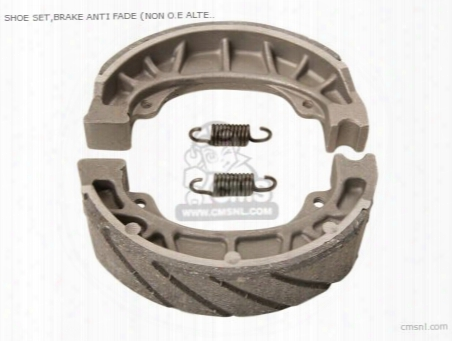 Shoe Set,brake Anti Fade (non O.e Alternative)