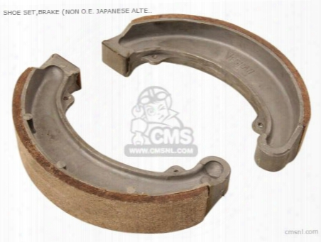 Shoe Set,brake (non O.e. Japanese Alternative)