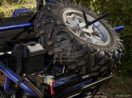 Spare Tire Mount Black Yxz1000