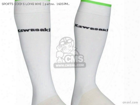 Sports Socks Long Whi