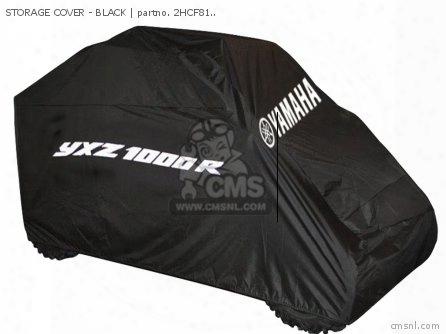 Storage Cover - Black