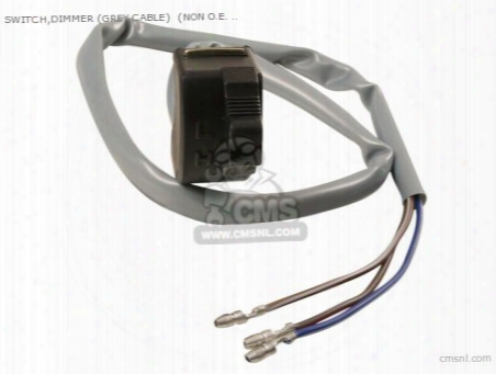 Switch,dimmer (grey Cable) (non O.e. Alternative)