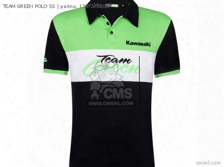 Team Green Polo Ss