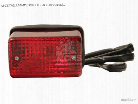 Unit,tail Light (non O.e. Alternative)