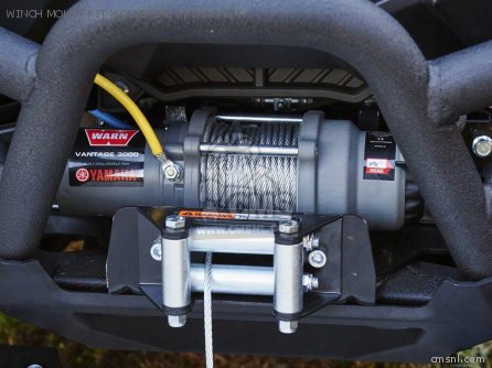 Winch Mount Kit Wolverine