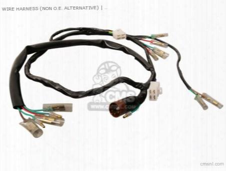 Wire Harness (non O.e. Alternative)