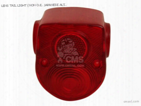 Lens Tail Light (non O.e. Japanese Alternative)