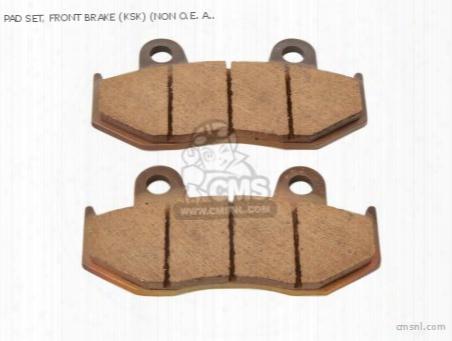 Pad Set, Front Brake (ksk) (non O.e. Alternative)