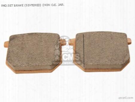 Pad,set Brake (sintered) (non O.e. Japanese Alternative)